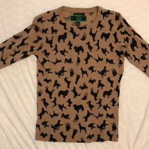 C wonder merino wool dog sweater